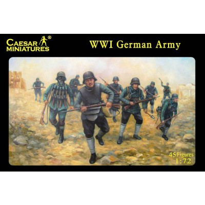 Caesar Miniatures figurines 1ère guerre mondiale : sturmtrooper allemands 1916