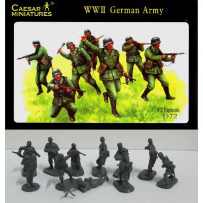 Caesar Miniatures figurines 2ème guerre mondiale : fantassins armée allemande 1939-1941