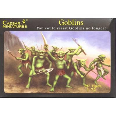 Caesar Miniatures figurines fantasy: guerriers gobelins