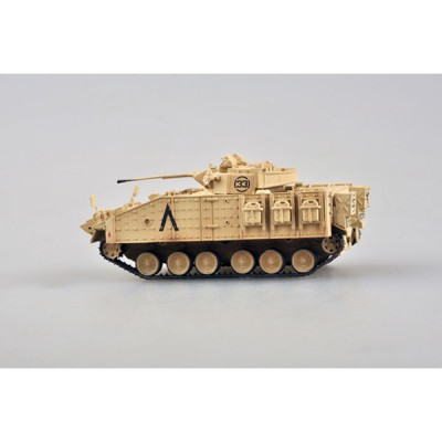 Easy Model maquette char : mcv 80 (warrior) 1st btn, staffordshire regt 7th armoured brigade