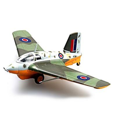 Easy Model modèle réduit : messerschmitt me 163 b-1a (w. nr 191060) :capturé avec marquages raf vf241 1945