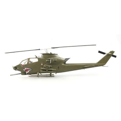 Easy Model modèle réduit : hélicoptère ah-1f cobra: unité us air force stationnée en allemagne 1990
