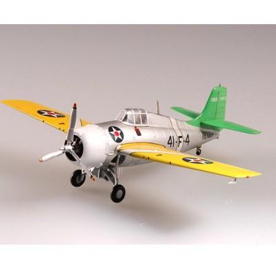 Easy Model modèle réduit : grumman f4f-3 wildcat vf-41 uss ranger: océan atlantique début 1941