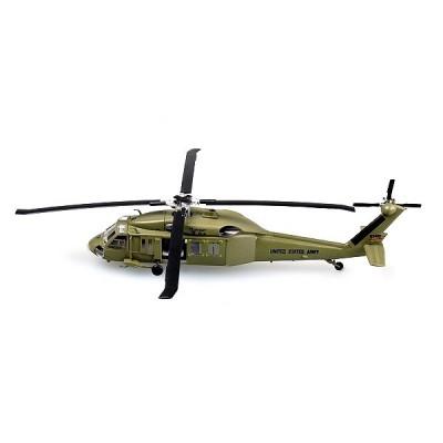 Easy Model modèle réduit : hélicoptère uh-60 midnight blue : 101st airborne