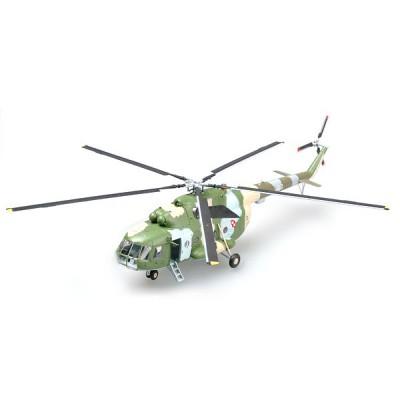 Easy Model modèle réduit : hélicoptère mi-8t blanc n0 610 : forces aériennes polonaises