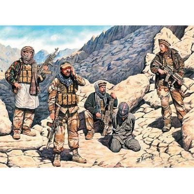 Master Box figurines militaires : quelque part en afghanistan, forces spéciales us 2013
