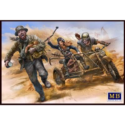 Master Box figurines : bataille du désert avec le clan du crâne - pour attraper un voleur