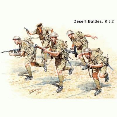 Master Box figurines 2ème guerre mondiale : 8ème armée britannique: afrique du nord 1941-1942