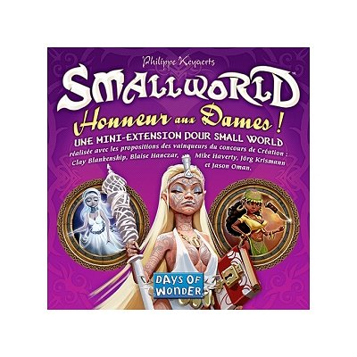 Days Of wonder small world : extension : honneur aux dames