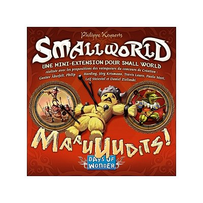 Days Of wonder small world : extension : maauuudits !