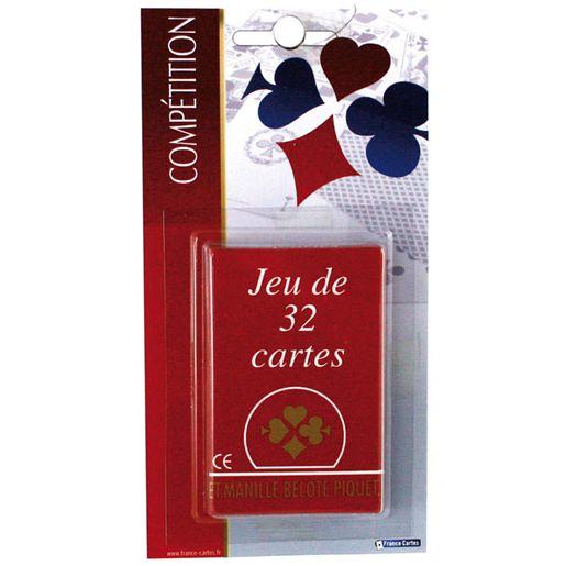 France Cartes jeu de 32 cartes