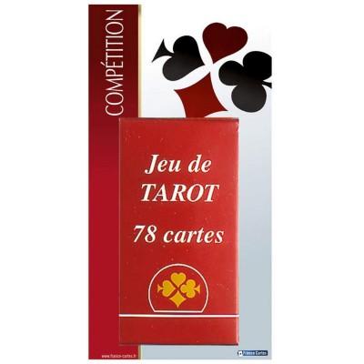 France Cartes Jeu de Tarot compétition 78 cartes