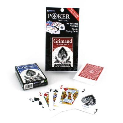 France Cartes Jeu de poker classique 54 cartes