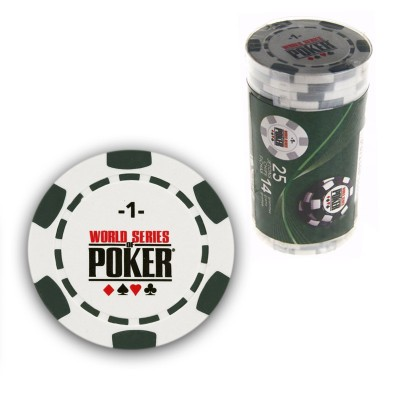 France Cartes 25 jetons de poker : 1