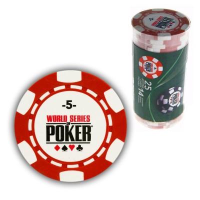 France Cartes 25 jetons de poker : 5