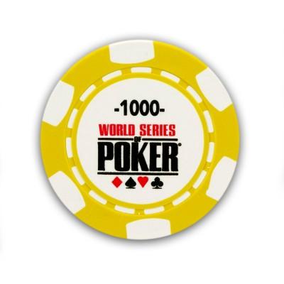France Cartes 25 jetons de poker : 1000