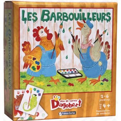 France Cartes Jeu de cartes Dagobert : Les barbouilleurs. Jeu de cartes Dagobert : Les barbouilleurs