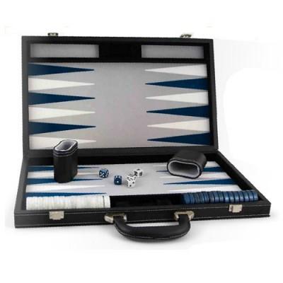 France Cartes backgammon façon cuir : grand modèle