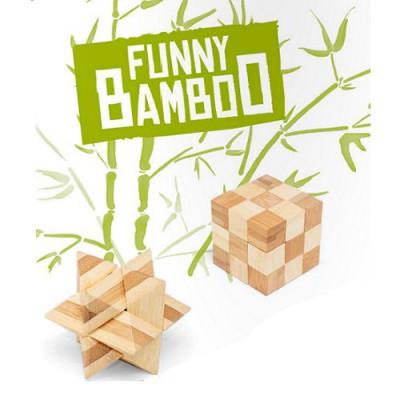 France Cartes Casse-tête en bois : Funny Bamboo