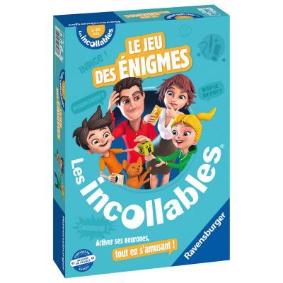Playbac Le jeu des énigmes des incollables