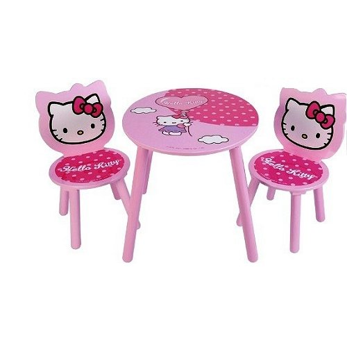 Table Et Chaise Enfant Hello Kitty