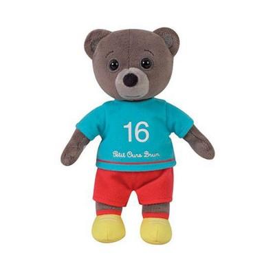 Jemini Peluche petit ours brun habillé