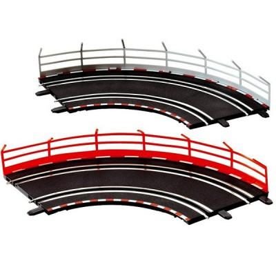 Carrera Circuit de voitures carrera digital 143 rails de sécurité : 10 unités