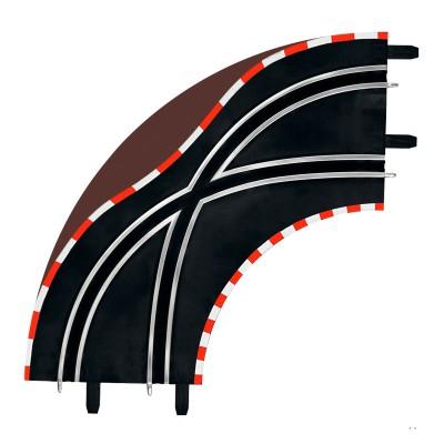 Carrera Circuit de voitures carrera digital 143 : virage d'aiguillage 90°