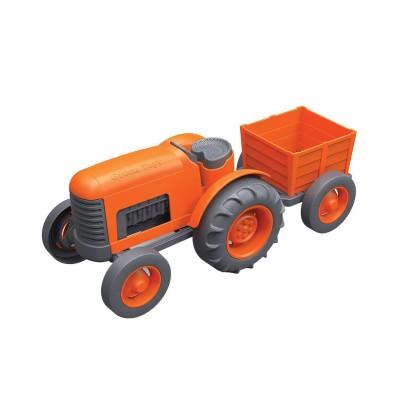 Green Toys le tracteur orange