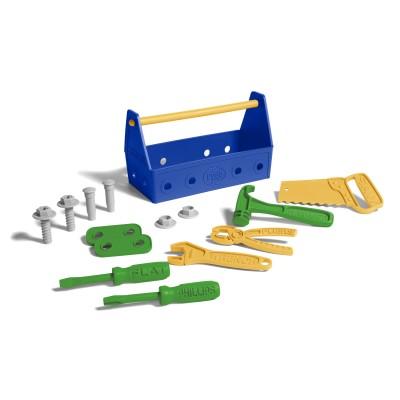 Green Toys la caisse à outils bleue