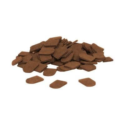 Teifoc Ardoises marron x50
