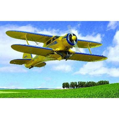 Roden Maquette avion: beechcraft d17s