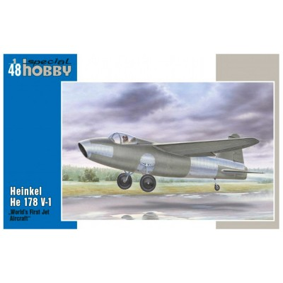Special Hobby maquette avion militaire : heinkel he 178 v-1