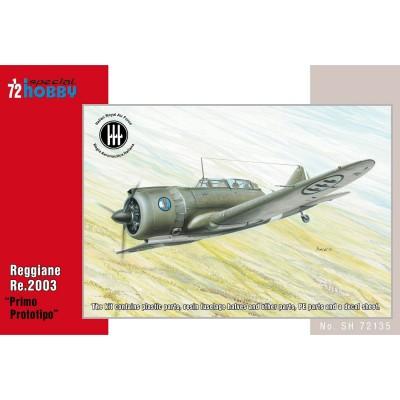 Special Hobby maquette avion militaire : reggiane re.2003 primo prototipo