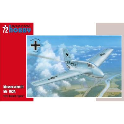 Special Hobby maquette avion militaire : messerschmitt me 163a - first rocket fighter