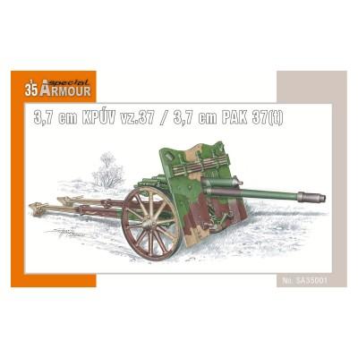 Special Hobby accessoire pour maquette char : canon kpuv vz.37 pak 37