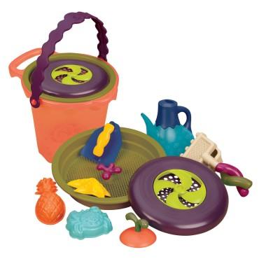B.Toys Set de plage : seau garni