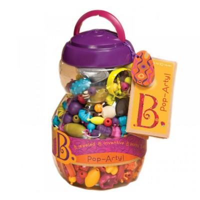 B.Toys Perles 500 pièces pop arty!