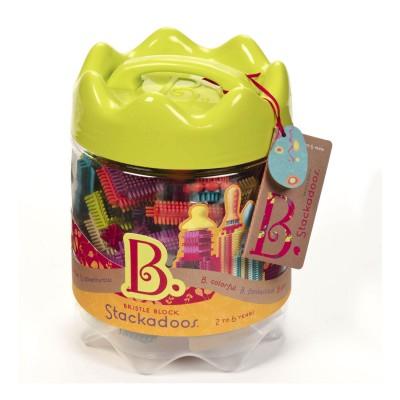 B.Toys Jeu de construction Bristle Blocks : Stackadoos
