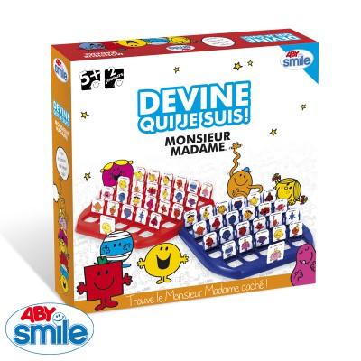 Aby Smile jeu monsieur madame : devine qui suis je ?