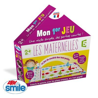 Aby Smile jeu de plateau les maternelles : mon premier jeu