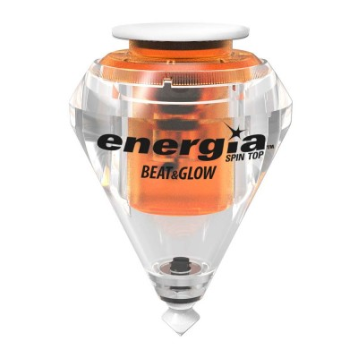 Toupie Energia Beat & Glow orange