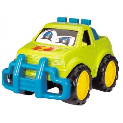 Bébé Découvertes voiture 4x4 : drôle de voiture verte