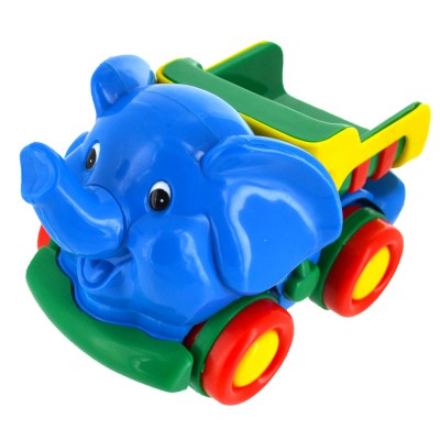 Bébé Découvertes mini véhicules : eléphant