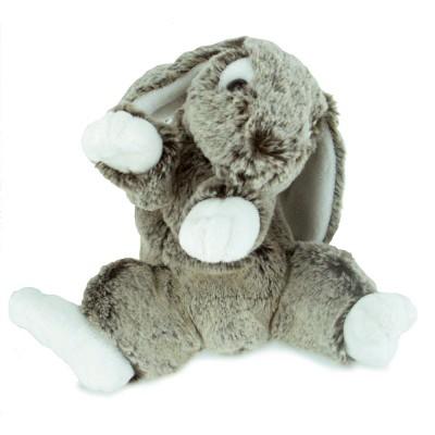 Soft Friends peluche lapin 22 cm : gris