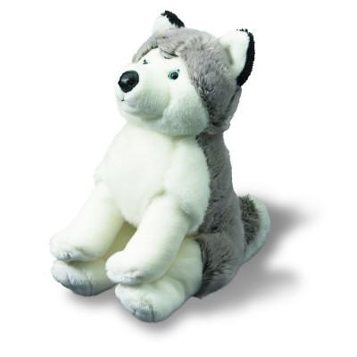 Soft Friends peluche chien 28 cm : husky