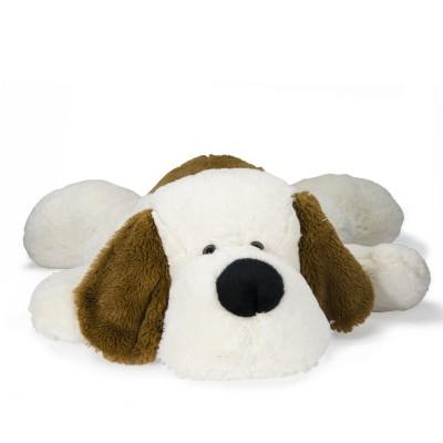 Soft Friends peluche chien 60 cm couché