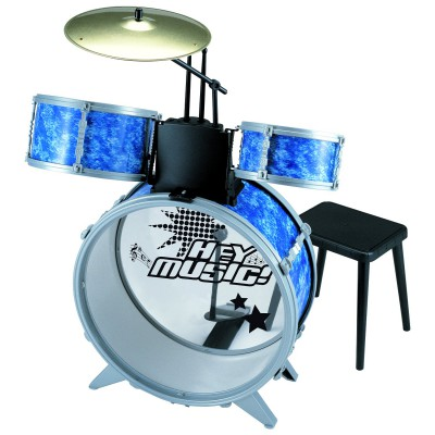 batterie avec tabouret hey music magasin de jouets pour enfants. Black Bedroom Furniture Sets. Home Design Ideas