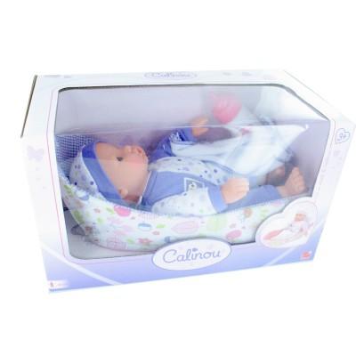 Calinou Bébé dans son couffin sans anses : Violet