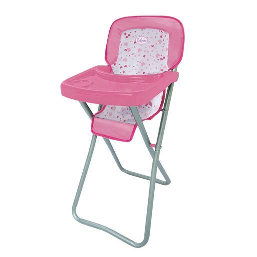 Calinou Chaise haute métallique